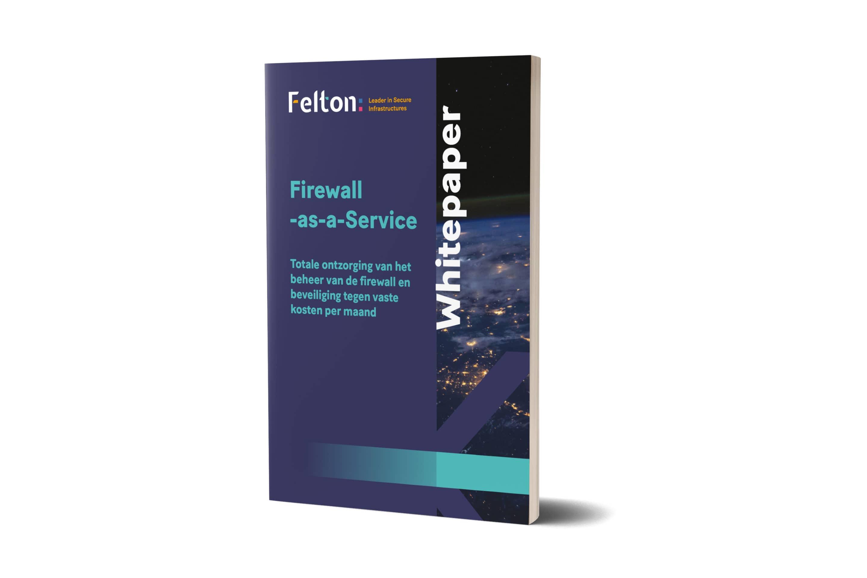 Voorkant van de Whitepaper Firewall-as-a-Service