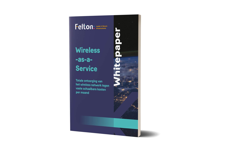 Voorkant van de Whitepaper Wireless-as-a-Service